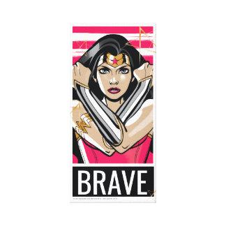 Wonder Woman Defend - Template Canvas Print