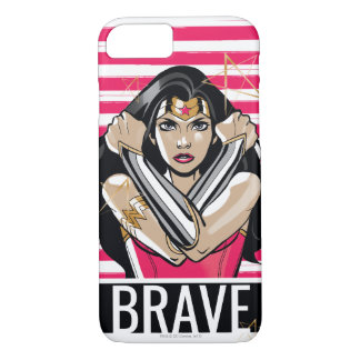 Wonder Woman Defend - Template Case-Mate iPhone Case