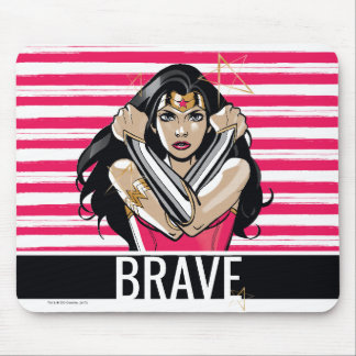 Wonder Woman Defend - Template Mouse Pad