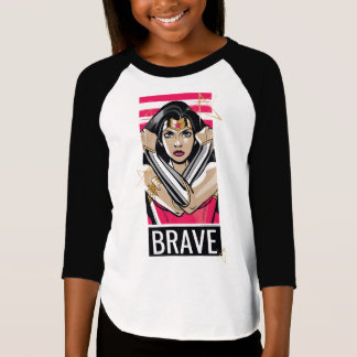 Wonder Woman Defend - Template T-Shirt