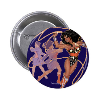 Wonder Woman Diana Prince Transformation 2 Inch Round Button