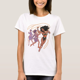 Wonder Woman Diana Prince Transformation T-Shirt