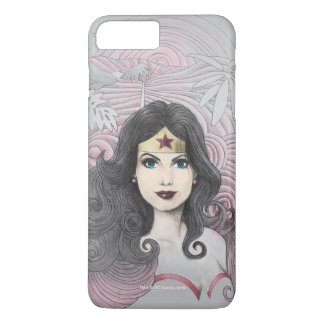 Wonder Woman Eagle and Trees iPhone 8 Plus/7 Plus Case