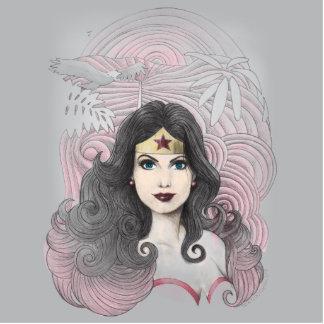 Wonder Woman Eagle and Trees Photo Cutouts