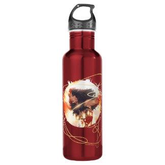 Wonder Woman Encyclopedia Cover 710 Ml Water Bottle
