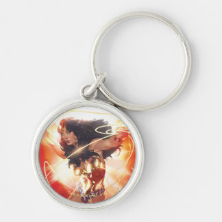 Wonder Woman Encyclopedia Cover Keychain
