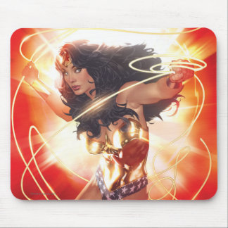 Wonder Woman Encyclopedia Cover Mouse Pad