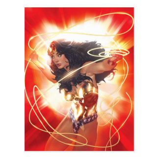 Wonder Woman Encyclopedia Cover Postcard