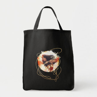 Wonder Woman Encyclopedia Cover Tote Bag