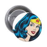 Wonder Woman Face Buttons