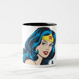 Wonder Woman Face Mugs