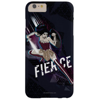 Wonder Woman - Fierce Barely There iPhone 6 Plus Case