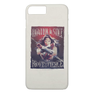 Wonder Woman Fight For Justice iPhone 8 Plus/7 Plus Case