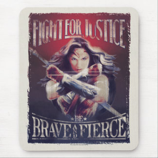 Wonder Woman Fight For Justice Mouse Pad