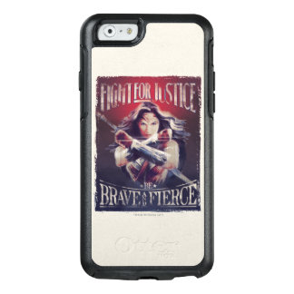 Wonder Woman Fight For Justice OtterBox iPhone 6/6s Case