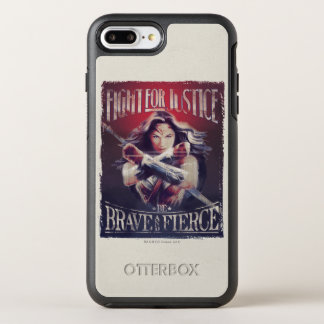 Wonder Woman Fight For Justice OtterBox Symmetry iPhone 7 Plus Case