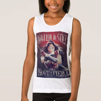 Wonder Woman Fight For Justice Tank Top