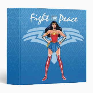 Wonder Woman - Fight For Peace 3 Ring Binders