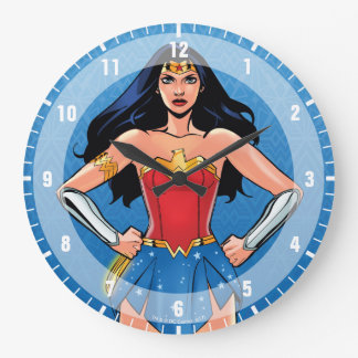 Wonder Woman - Fight For Peace Clocks