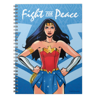 Wonder Woman - Fight For Peace Spiral Notebook