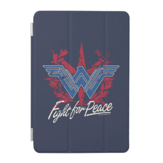 Wonder Woman Fight For Peace Symbol iPad Mini Cover