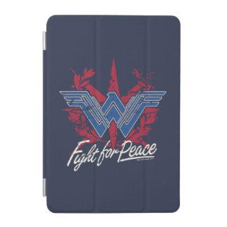 Wonder Woman Fight For Peace Symbol iPad Mini Cover