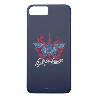 Wonder Woman Fight For Peace Symbol iPhone 8 Plus/7 Plus Case