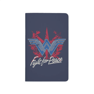 Wonder Woman Fight For Peace Symbol Journal
