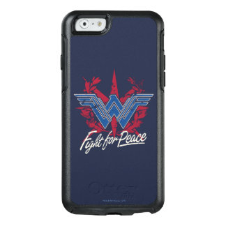 Wonder Woman Fight For Peace Symbol OtterBox iPhone 6/6s Case