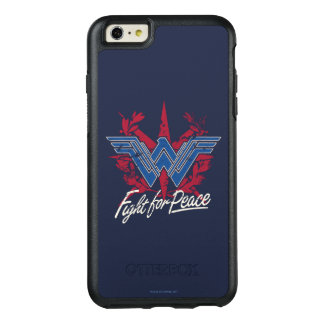Wonder Woman Fight For Peace Symbol OtterBox iPhone 6/6s Plus Case