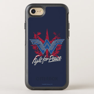 Wonder Woman Fight For Peace Symbol OtterBox Symmetry iPhone 8/7 Case
