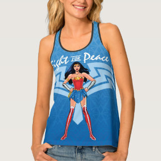 Wonder Woman - Fight For Peace Tank Top