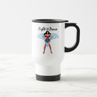 Wonder Woman - Fight For Peace Travel Mug