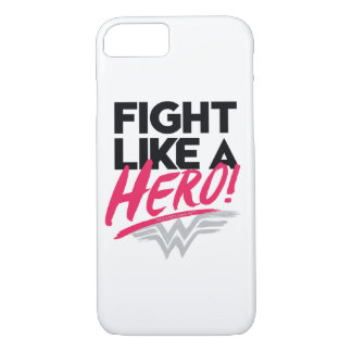 Wonder Woman - Fight Like A Hero Case-Mate iPhone Case