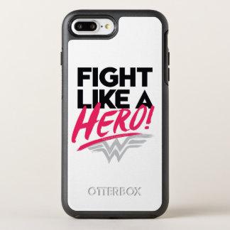 Wonder Woman - Fight Like A Hero OtterBox Symmetry iPhone 8 Plus/7 Plus Case