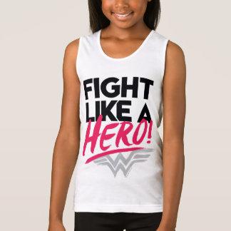 Wonder Woman - Fight Like A Hero Tank Top