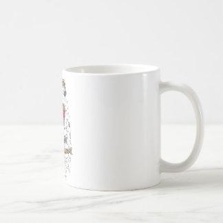 Wonder Woman Flourish Classic White Coffee Mug