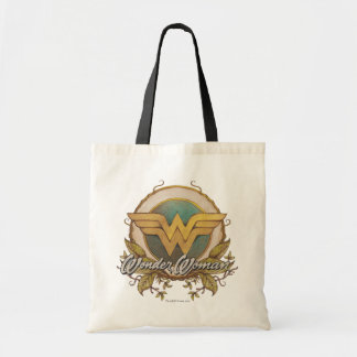 Wonder Woman Foliage Sketch Logo