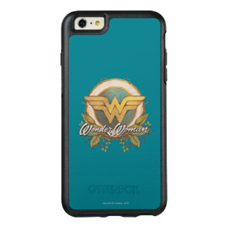 Wonder Woman Foliage Sketch Logo OtterBox iPhone 6/6s Plus Case