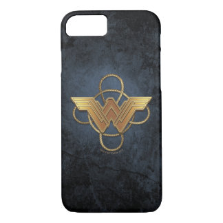 Wonder Woman Gold Symbol Over Lasso Case-Mate iPhone Case