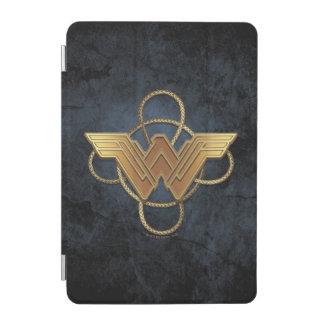 Wonder Woman Gold Symbol Over Lasso iPad Mini Cover