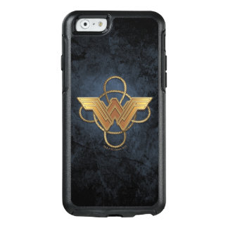 Wonder Woman Gold Symbol Over Lasso OtterBox iPhone 6/6s Case