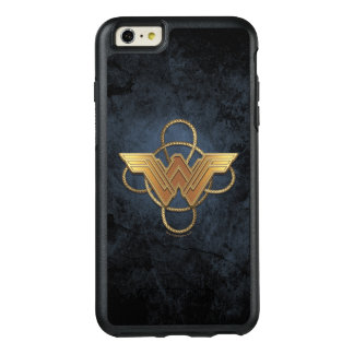 Wonder Woman Gold Symbol Over Lasso OtterBox iPhone 6/6s Plus Case