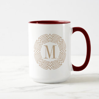 Wonder Woman Greek Pattern Mug