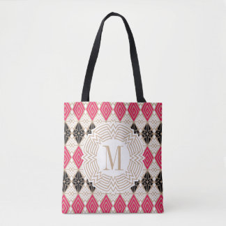 Wonder Woman Greek Pattern Tote Bag
