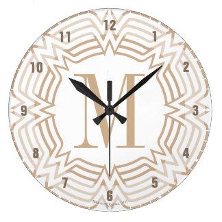 Wonder Woman Greek Pattern Wall Clocks