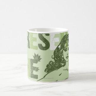 Wonder Woman Green Future Classic White Coffee Mug