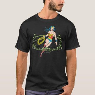 Wonder Woman Green Vines T-Shirt