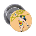 Wonder Woman Holds Lasso 2 Pin