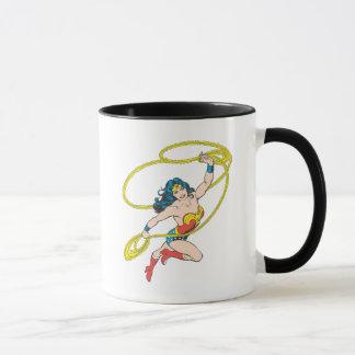 Wonder Woman Holds Lasso 3 Mug